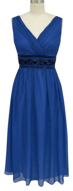 Preload https://item4.tradesy.com/images/blue-royal-goddess-beaded-waist-cocktail-mid-length-formal-dress-size-22-plus-2x-153458-0-0.jpg?width=400&height=650