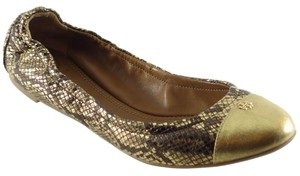 Tory Burch York Gold Flats