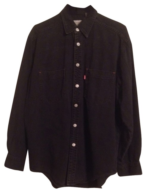 Levi's Button Down Shirt Black