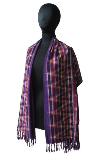 Preload https://img-static.tradesy.com/item/1534643/multicolor-colorful-modern-ikat-patterned-shawlwrap-scarfwrap-0-0-540-540.jpg