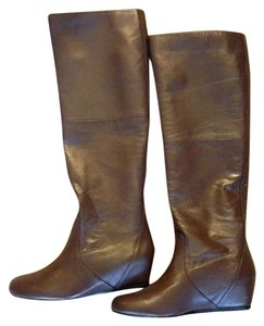 "Report Signature Wedge Hidden Wedge 2"" Pull-on brown Boots"