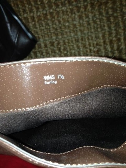 """Report Signature Wedge Hidden Wedge 2"""" Pull-on brown Boots"""