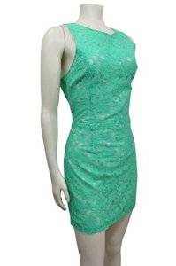 ASTR Lace Overlay Dress