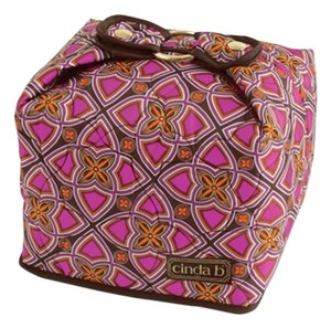 Cinda B Classy Sophisticated Chic Pink - brown Travel Bag