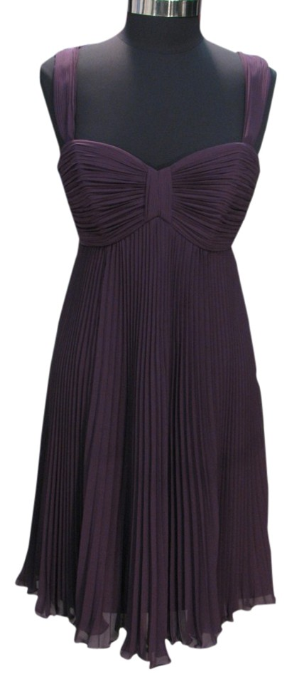 b6aada88d1c Watters Plum 187 Bridesmaid - (W-4) Short Cocktail Dress Size 10 (M ...