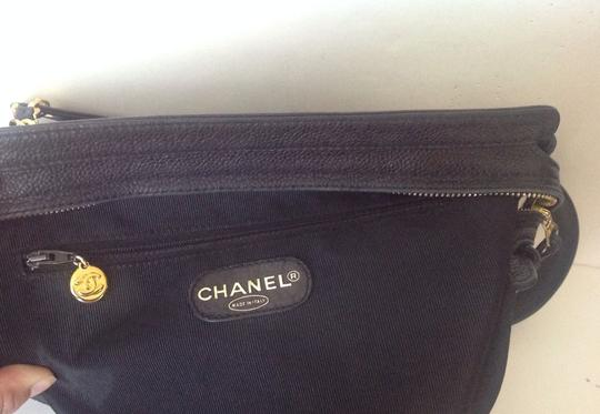 Chanel Vintage Classic Chic Caviar Leather Shoulder Bag