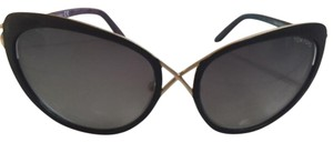 Tom Ford Tom Ford Gradient Smoke Sunglasses 321 Daria Cross Over Cat Eye