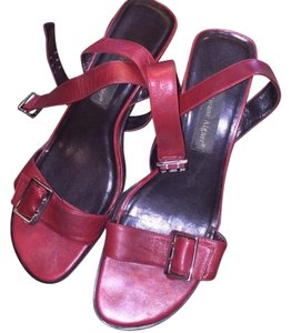 Etienne Aigner Oxblood Red Wedges