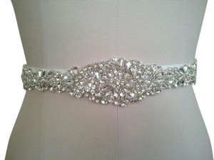 High Quality Bridal Sash With Crystals