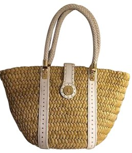Michael Kors Tote in Natural/straw/corn husk