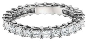 Avi and Co 1.90 cttw Princess Cut Diamond Shared Prong Eternity Band 14K White Gold