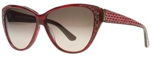 Salvatore Ferragamo Salvatore Ferragamo Wine Red Cateye Sunglasses