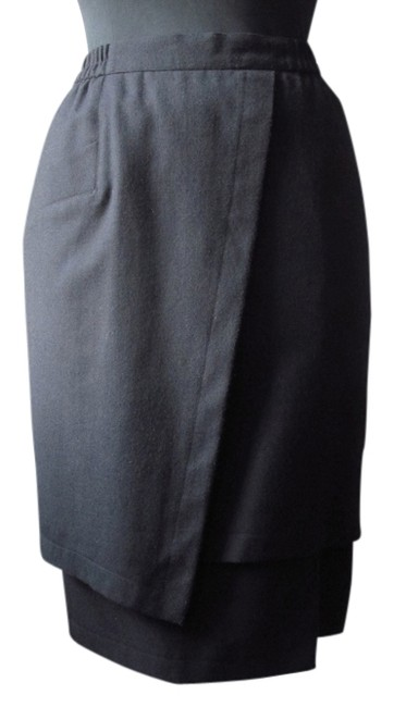 Other Wool Pencil Italian Wool Chic Elegant Date Night Timeless Christmas Gifts All Rick Owens Skirt Black