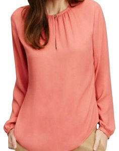 Ann Taylor Top Faded Coral