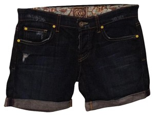 Rich & Skinny Cuffed Shorts Dark Denim