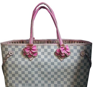 Handmade Handle Covers For Louis Vuitton Neverful GM MM Papillon 30 Pink