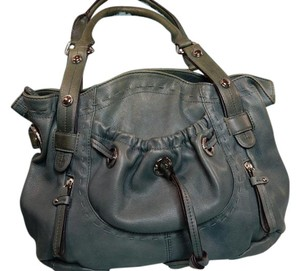 B. Makowsky Leather Designer Shoulder Bag