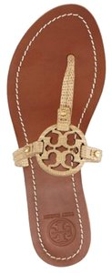 Tory Burch Trench tan beige nude Sandals