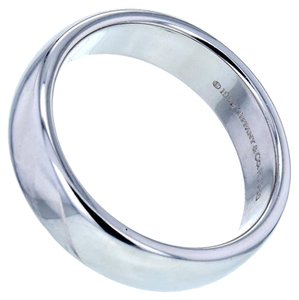 Tiffany & Co. 6mm Lucida Wedding Band in 950 Platinum Size 9