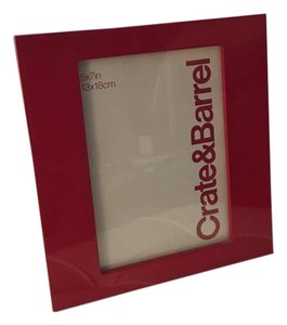 Red Lacquer Picture Frame