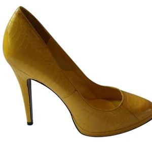 Ralph Lauren Yellow Pumps
