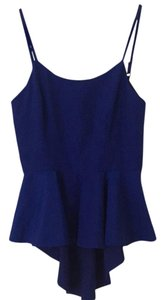 Keepsake the Label Top Cobalt blue