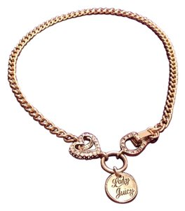 Juicy Couture Juicy Couture Hearts and Horseshoe Necklace
