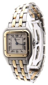 Cartier Cartier Panthere 18K Yellow Gold and Stainless Steel Watch