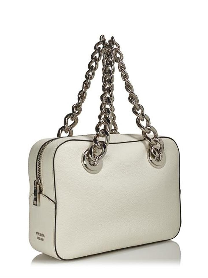 choice purses - Prada Bauletto 1bb017 Talco #41969 Cream Satchel on Sale, 23% Off ...