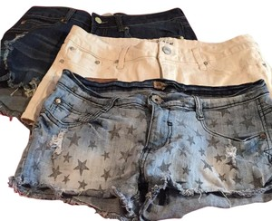 Lot of cut offs (3) shorts Cut Off Shorts