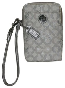Coach Coach Monogram Phone Case Wristlet Phone Wallet