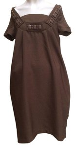 Karta short dress Brown on Tradesy
