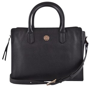 Tory Burch Tote Tote Black Messenger Bag