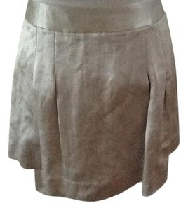 Theory Womens Pleated Pastel Adorable Mini Skirt Pastel Green