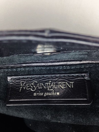 Saint Laurent Silver Hardware Shoulder Bag