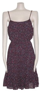 Anthropologie short dress Floral Accordion on Tradesy