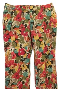 Talbots Capri/Cropped Pants Multicolor