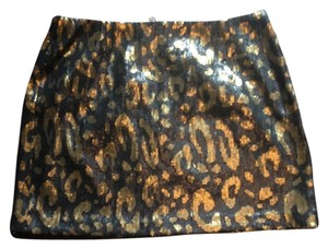 Tahari Mini Sequin Mini Skirt multi