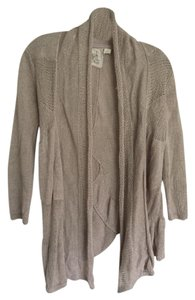 Angel of the North Linen Anthropologie Cardigan