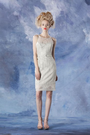 Theia Sbh Lace 881609 Formal Bridesmaid/Mob Dress Size 12 (L)