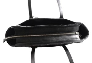 Coach Leather Tote in Black