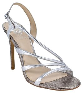 Vince Camuto Open Toe Dress Silver Sandals