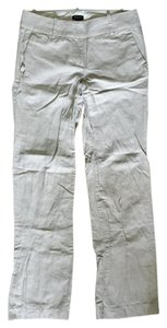 J.Crew Linen-cotton Straight Pants Flax