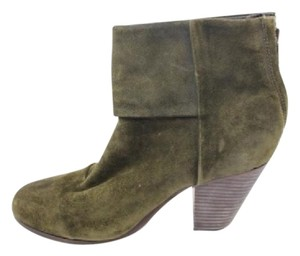 Rag & Bone Penny Lane Green Booties Boots