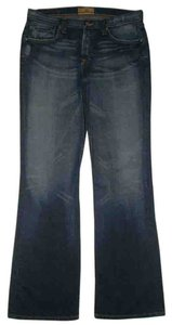 BKE 5 Pocket Style Button Fly Boot Cut Jeans-Dark Rinse