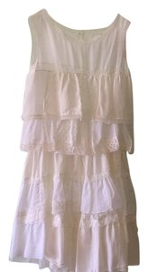 Nina Ricci short dress White on Tradesy