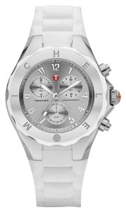 Michele MICHELE Jelly Bean white/ silver WATCH