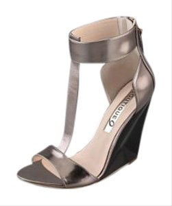 Boutique 9 Dark Silver Wedges