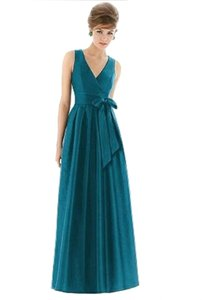 Alfred Sung Full Length Sleeveless Dress