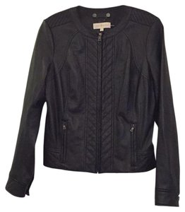 Tory Burch Leather Jacket Coat